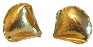 Tiffany & Co. Vintage Tiffany Co Angela Cummings 18KT Yellow Gold Earrings