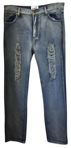 One Teaspoon Straight Leg Jeans