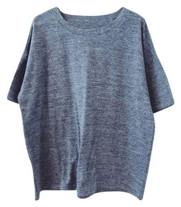 Silence + Noise Urban Outfitters T Shirt Gray Heather