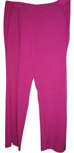 Ellen Tracy Straight Pants Pink/Fushia