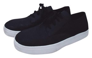 Eileen Fisher Sneakers Leather Minimalist Black Athletic