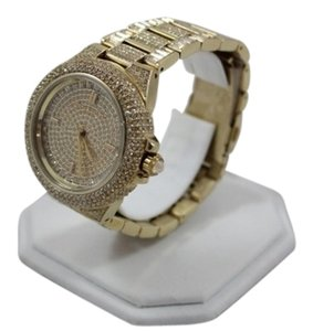 Michael Kors Michael Kors Gold Plated Swarovski Crystal Encrusted Ladies Watch