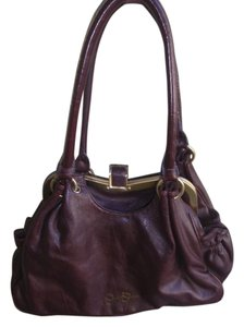 Jessica Simpson Sampson Satchel in dark brown