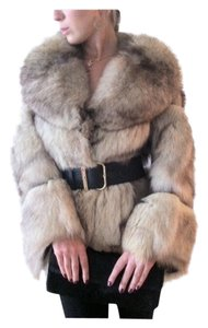Mink Fur Fox Coat
