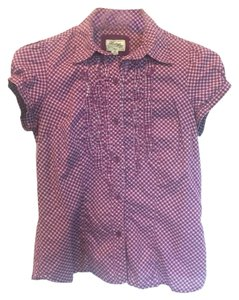 Heritage 1981 Button Down Shirt Purple/White