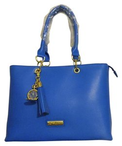 Joy & IMAN Tote in Denim Blue