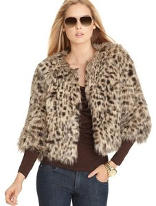 Michael by Michael Kors Faux Fur Night Out Date Night Chic Fur Coat
