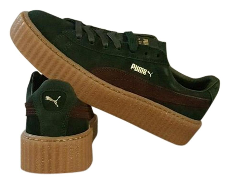 new concept aa83e 78f70 Puma Bordeaux Rihanna Fenty Creeper Sneakers Size US 10