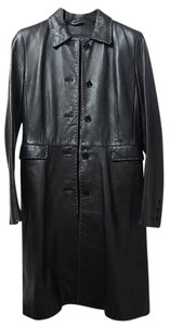 Kenneth Cole Reaction Leather Genuine Coat