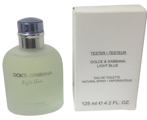 Dolce&Gabbana DOLCE & GABBANA LIGHT BLUE 4.2 oz / 125 ml MEN TESTER ,BRAND NEW IN BOX