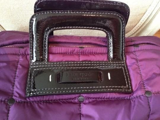 Kate Spade Satchel in purple/black