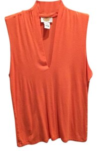 Talbots Top Orange