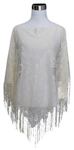 Other Poncho Boho Lace Sweater