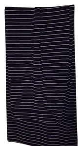 The Limited Maxi Skirt Navy blue and white stripe