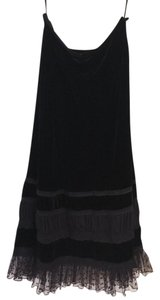 Alfani Lace Velvet Night Out Maxi Skirt Black