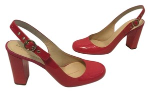 Kate Spade Padded Insoles $10 OFF NEW Pink Patent all leather slingback Italian Pumps