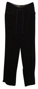 Eddie Bauer Trouser Pants Black Velvet