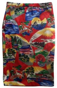Dolce&Gabbana Pattern Dolce And Gabbana D&g Special Collection Skirt