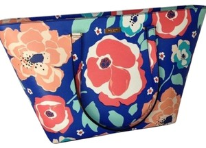 Kate Spade Floral Leather Tote Jules Satchel