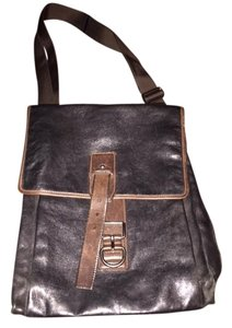 Prada Satchel in Black/brown