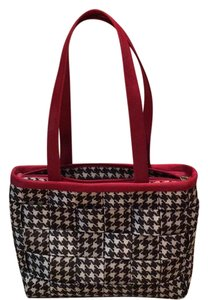Harveys Satchel in Houndstooth Black/White
