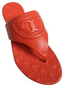 1e4060aa18d Red Tory Burch Sandals - Up to 90% off at Tradesy
