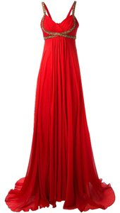Burgundy/Wine Maxi Dress by Marchesa Notte