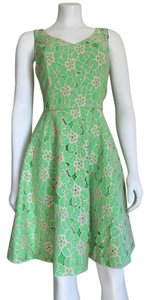 Lilly Pulitzer Preppy Lace Open Back Party Summer Dress