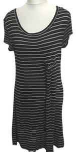 A.L.C. Hemp Stripe Jersey Knit Dress