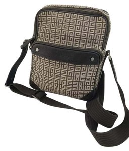Givenchy Auth Papers Canvas Vintage Cross Body Bag
