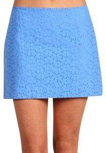 Lilly Pulitzer Eyelet Mini Summer Mini Skirt Light Blue