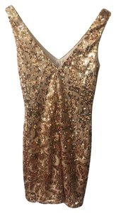 bebe Sequin Sequined Dress