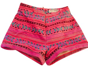 Bullhead Denim Co. Shorts Hot Pink