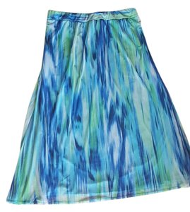 Chico's Maxi Skirt Multi