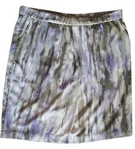 Chico's Skirt Multi Olive and purple