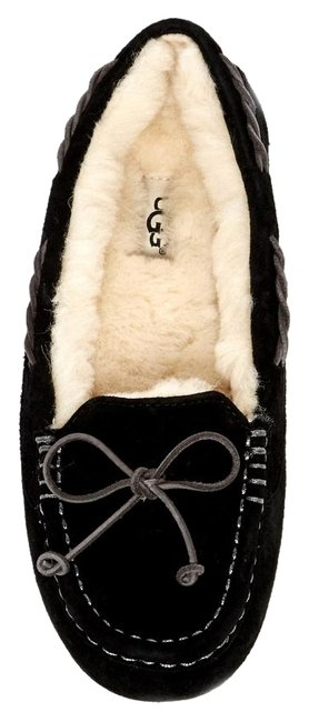 Item - Black Tate Wool Lined Moccassin Loafer Slipper Flats Size US 9 Regular (M, B)