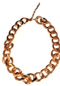 Garcia Vega Figaro Gold Tone Chain Link Necklace
