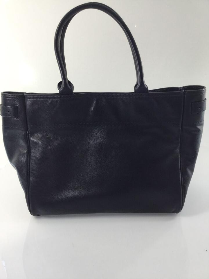 1c5c806c77 Mulberry Bayswater Midnight Blue Leather Tote - Tradesy