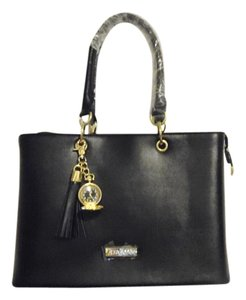 Joy & IMAN Tote in Jet Black