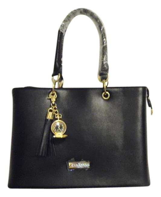 Item - Genuine Timeless Chic Everything Jet Black Leather Tote
