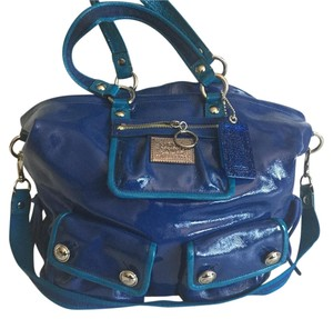 Coach Tote in Blueberry