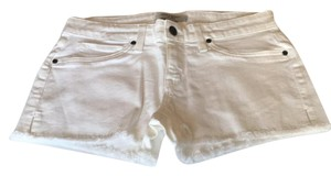 Rich & Skinny Cut Off Shorts White