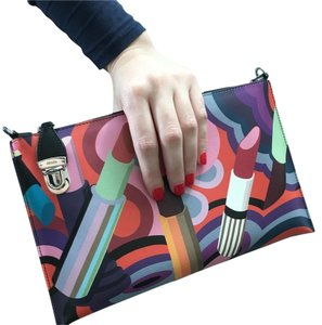 Prada Multicolor Clutch