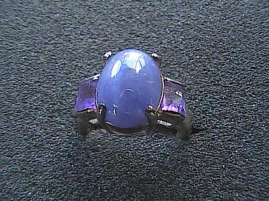 Vintage Sterling Silver Lavender and 2.0 carats Amethyst Ring