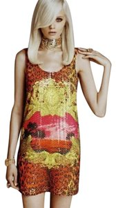 Versace for H&M Sequin Animal Print Dress