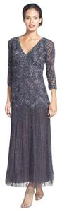 Pisarro Nights Sequin Lace Beaded Dress