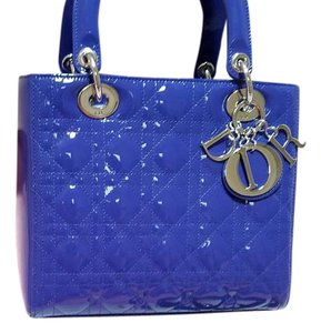 Dior Tote in Purple