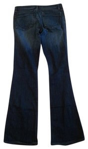 Paper Denim & Cloth & Bridgette Designer Like New Boot Cut Jeans-Dark Rinse