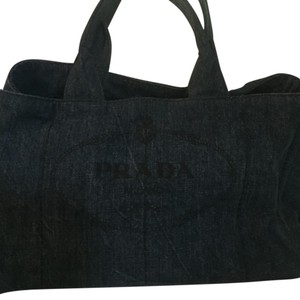 Prada Tote in Denim
