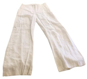 H&M Wide Leg Pants Off white